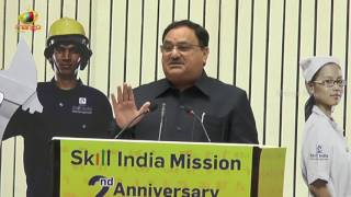 Union Minister JP Nadda Speech at 2nd Anniversary of Skill Indian Mission | Delhi | Mango News - MANGONEWS