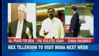 US Secretary of State, Rex Tillerson to visit India next week - NEWSXLIVE
