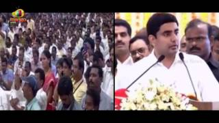 Nara Lokesh Speech at Panchayati Raj Celebrations Day Meeting In Vijayawada | Mango News - MANGONEWS