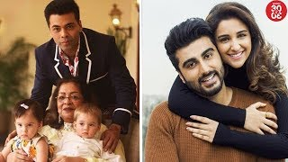 Karan Celebrates Mom Hiroo Johar's 75th B'day | Arjun, Parineeti Shoot A Song For 'Namastey England' - ZOOMDEKHO