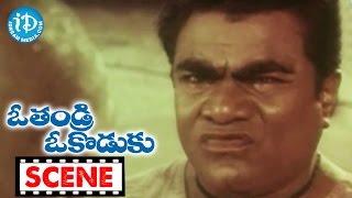 O Thandri O Koduku Movie Scenes - Ironleg Sastri And Babu Mohan Comedy || Mouli - IDREAMMOVIES
