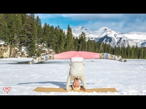 How To Do A Headstand ♥ Yoga Pose Tutorial | Sirsasana