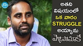 I Struggled For 1 Week For Him - Ali Mohammad || #Vellipomake || Talking Movies With iDream - IDREAMMOVIES