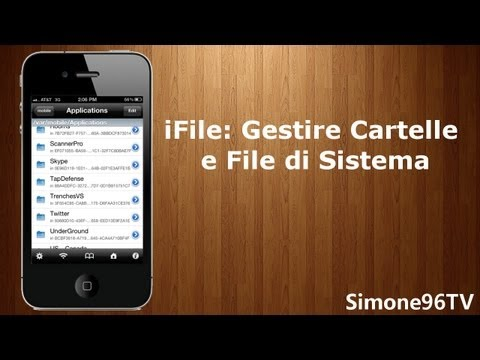 iFile: Gestire Cartelle e FIle di Sistema da iPod Touch, iPhone & iPad