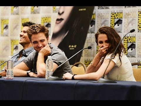 Comic-Con 2012: Twilight Saga - Kristen Stewart & Robert Pattinson
