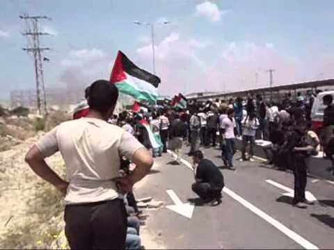 15 may demo Erez crossing
