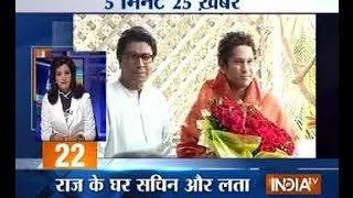 5 Minute 25 Khabarein - 10/3/14 7 AM - INDIATV