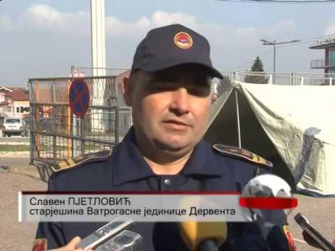 Taktičko – pokazna vježba vatrogasne jedinice