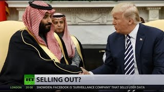 'They'll give some of their wealth' - Trump promotes US arm to Saudis - RUSSIATODAY