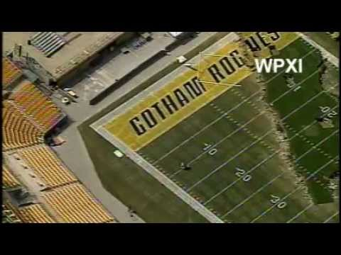 WPXI - Heinz Field Torn Up For 'Dark Knight Rises' Scene In Pittsburgh