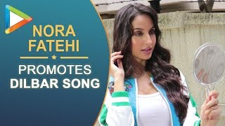 CHECK OUT : Nora Fatehi during the promotions of Satyamev Jayte - HUNGAMA