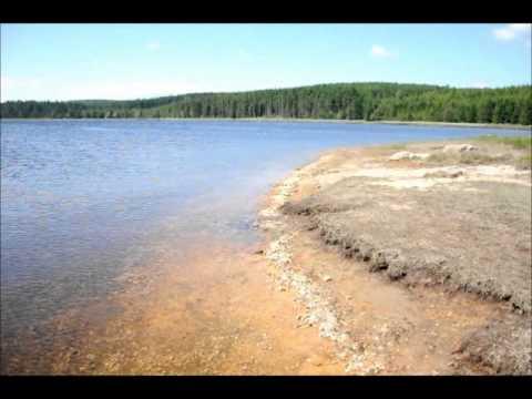 Bedřichovská přehrada - nuda pláž v 770 m.n.m. NATURISTA.TV