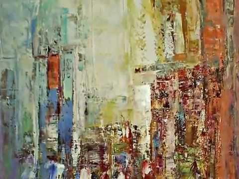 Related video - Tuto peinture abstraite contemporaine ...