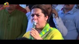 Meenakshi Lekhi's Speech During Protest at Raj Ghat, Save Bengal Protest | Mango News - MANGONEWS