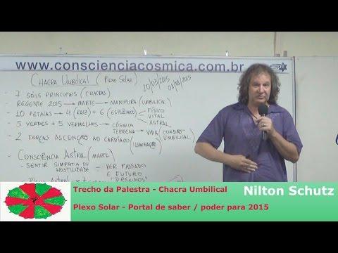 Nilton Schutz - Chacra Umbilical - Plexo Solar - Portal de saber / poder para 2015