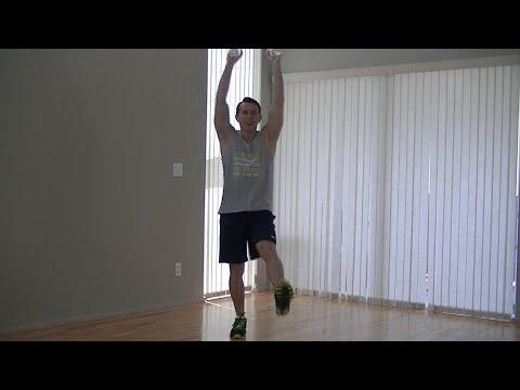 10 Min Calorie Burning Low Impact Cardio - HASfit Low Impact Aerobics Workout - Beginner Exercises