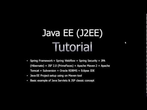 Java EE (J2EE) Tutorial for beginners Part1