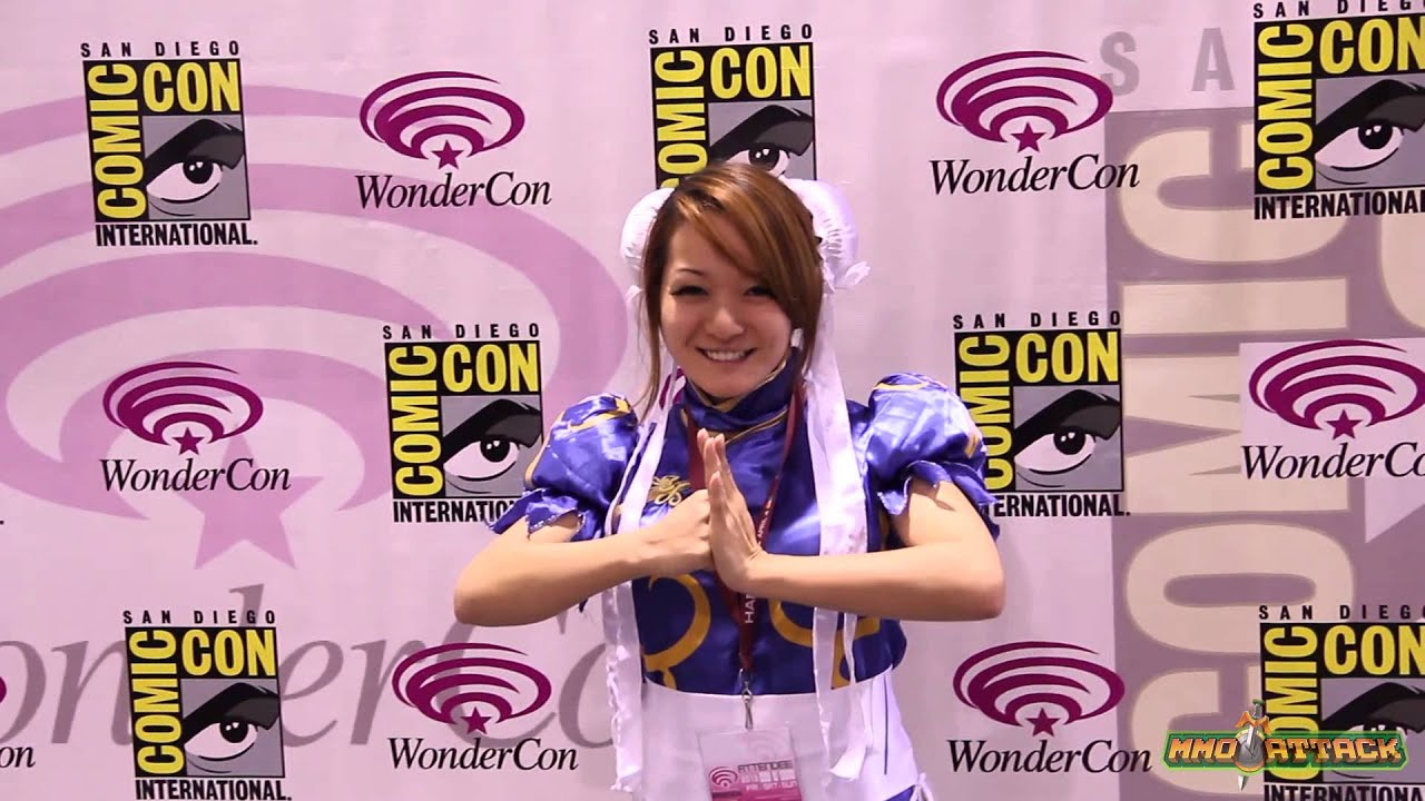 Reina Goes to WonderCon - WonderCon 2013