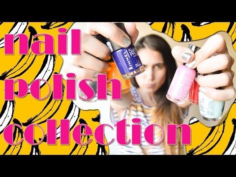 Colección de Esmaltes | Nail polish collection - Fashion Diaries