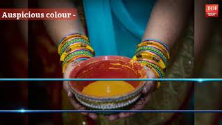 Why do we apply haldi to the bride and groom before wedding? - TIMESOFINDIACHANNEL