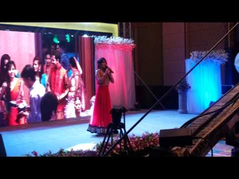 prewedding(mahila sangeet) anchoring by anchor sagrika jain