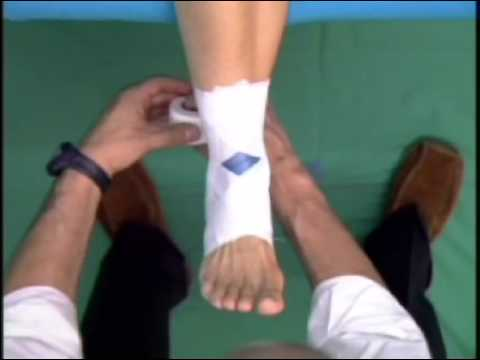 How to Tape an Ankle - Wie Tape ich ein Sprunggelenk