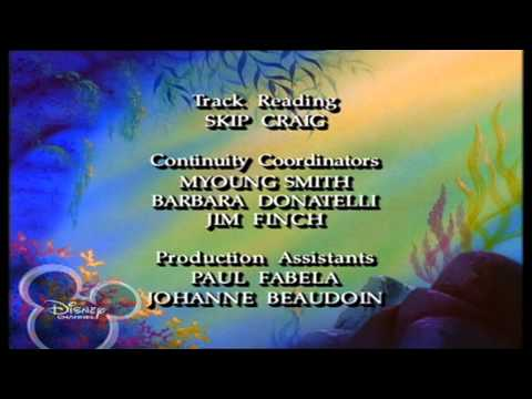 Disney Channel Scandinavia - THE LITTLE MERMAID: THE SERIES - Ending Credits / Outro