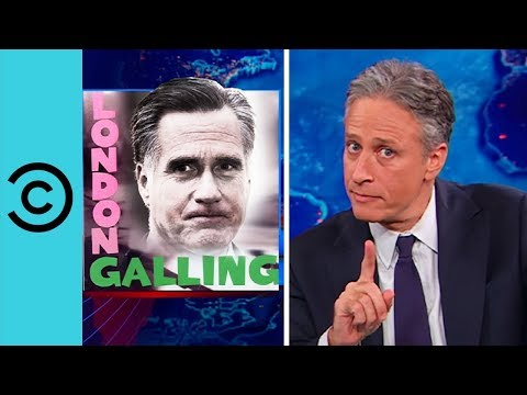 Election 2011: Romney England Gaffes