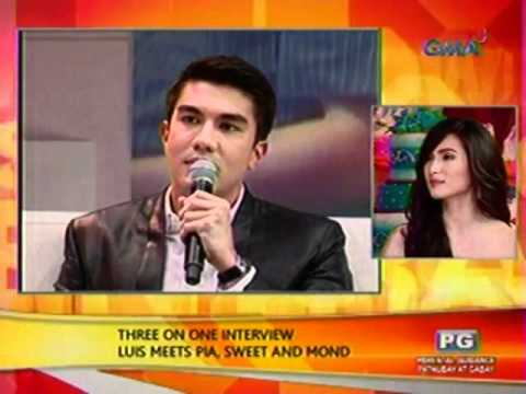 SC: Three on one interview: Luis meets Pia, Sweet and Mond