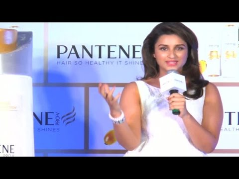 HOT Parineeti Unveils A New Shampoo Product