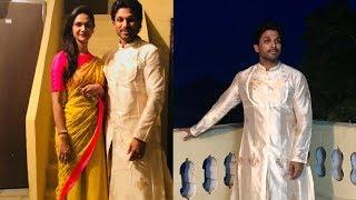 Allu Arjun Dussehra Celebrations With His Family | Tollywood Updates - RAJSHRITELUGU