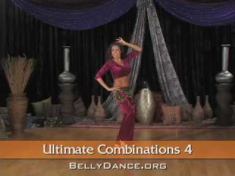 Belly Dance Instruction - Ultimate Combinations 4