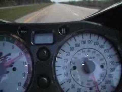 RACHA Moto Suzuki Hayabusa at 352KmH
