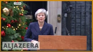 🇬🇧British PM May to face no-confidence vote | Al Jazeera English - ALJAZEERAENGLISH