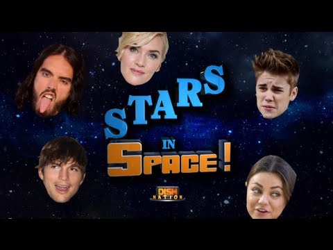 Ashton and Mila Drop Half a Million Dollars to Go to Space!