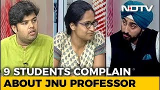 Protests At JNU Over Sexual Harassment - NDTV