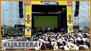 🇻🇪 🇨🇴 Rival concerts held as Venezuela power struggle intensifies l Al Jazeera English - ALJAZEERAENGLISH