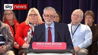 Jeremy Corbyn refuses to meet PM until a no deal is 'off the table' - SKYNEWS