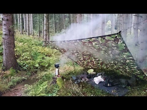 Der Kelly Kettle in Aktion. Reis kochen im Bushcraft Lager | Outdoor AusrüstungTV