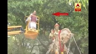Bengaluru: BJP chief Amit Shah pays tribute to  Lingayat philosopher Basaveshwara - ABPNEWSTV