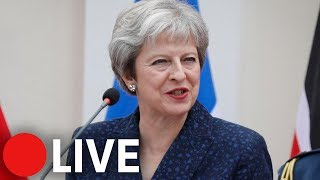 Theresa May holds briefing after EU summit in Salzburg - THESUNNEWSPAPER