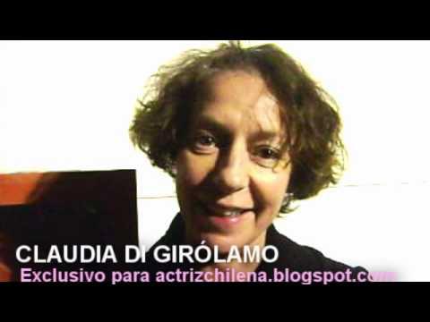 Claudia Di Girólamo saluda al Blog Actriz Chilena