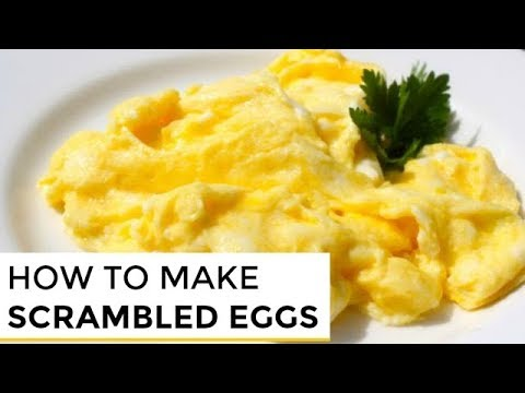 How To Make Really Good Scrambled Eggs