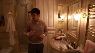 Сложный ремонт ванной комнаты Ремонт квартир в Москве
