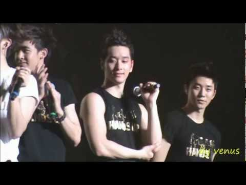 [FANCAM]111125 2PM - Talk III #28 @2PM HANDS UP ASIA TOUR IN M'SIA 2011