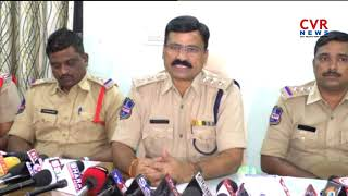 Khammam ACP Venkatarao Press Meet Over Massive Fire Mishap In Clothes Showroom l CVR NEWS - CVRNEWSOFFICIAL