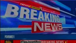 BJP protests against Tipu Jayanti in Hubli; workers arrested in Madikeri - NEWSXLIVE
