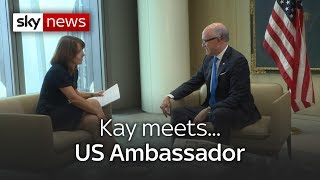 Kay meets... US ambassador to the UK - SKYNEWS