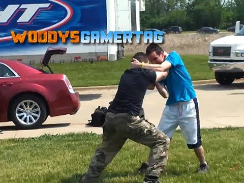 Woody vs Wrestler at Living Legends Paintball