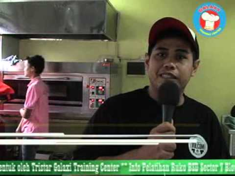resep cara membuat roti unyil. tristar galaxy training center